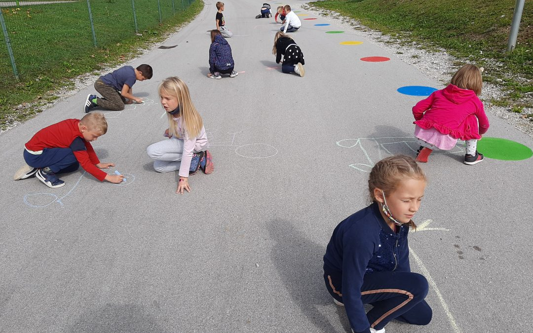 2. razred ob tednu mobilnosti